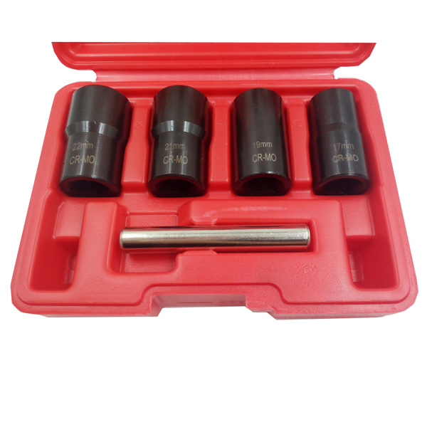 5Pcs Twist socket set 1/2